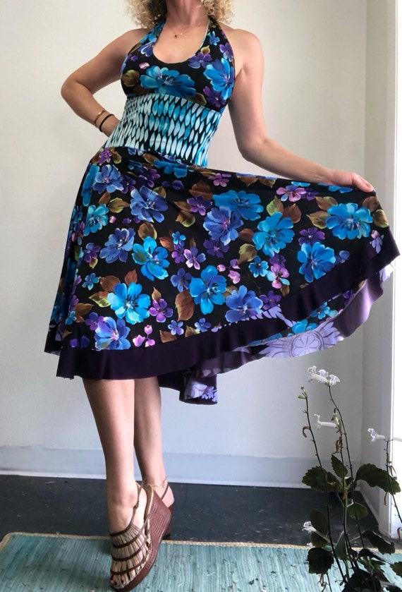 Halter Circle Dress