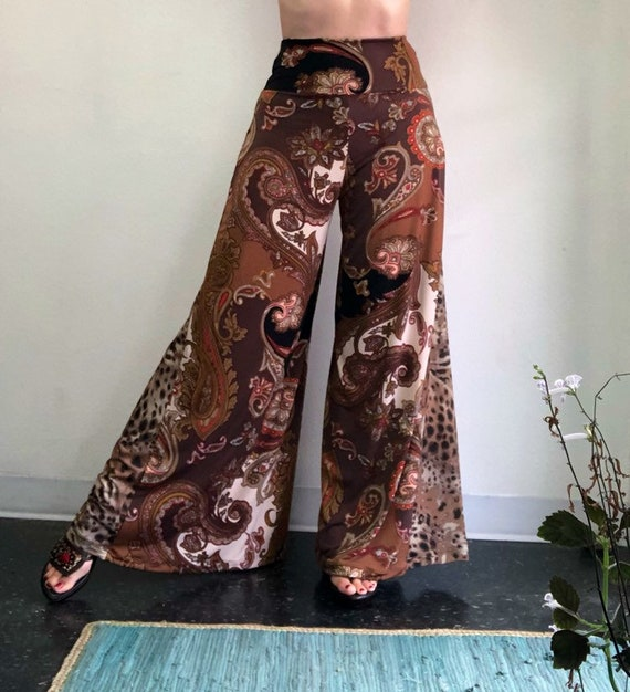 Baroque Paisely Palazzo Pant