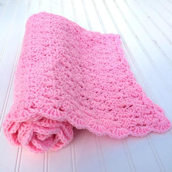 Baby Blanket Crochet Pattern Easy Crochet Baby Blanket Baby Etsy