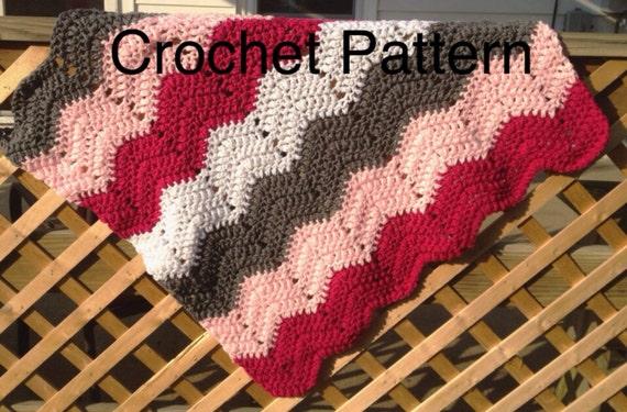 Baby Afghan Crochet Pattern Crochet Baby Blanket Pattern Etsy