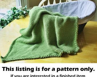 Knit stroller blanket pattern, knit baby blanket pattern, knit blanket pattern, cable knit blanket pattern, cable blanket pattern