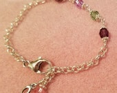 Mother's Birthstone Bracelet