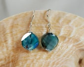 Faceted Millefiore Earrings
