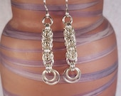 Byzantine Chain Maille Earrings