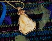 Milky Amber Pendant