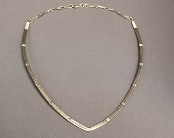 Sterling Silver Neck Collar