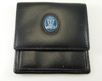 Vintage Leather Coin Purse Lladro Collectible