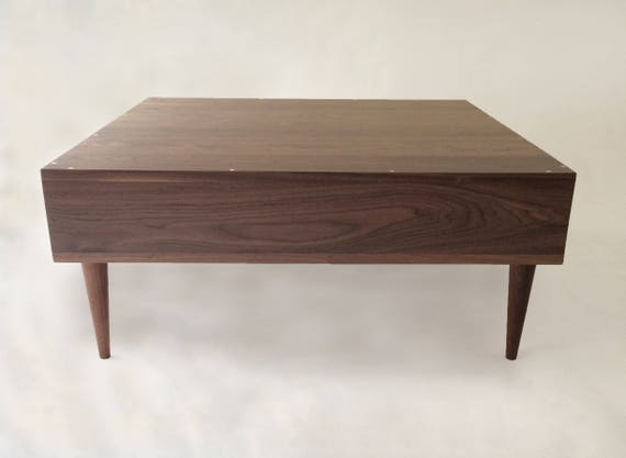 Mid Century Sectional Sofa Corner Table Side Table