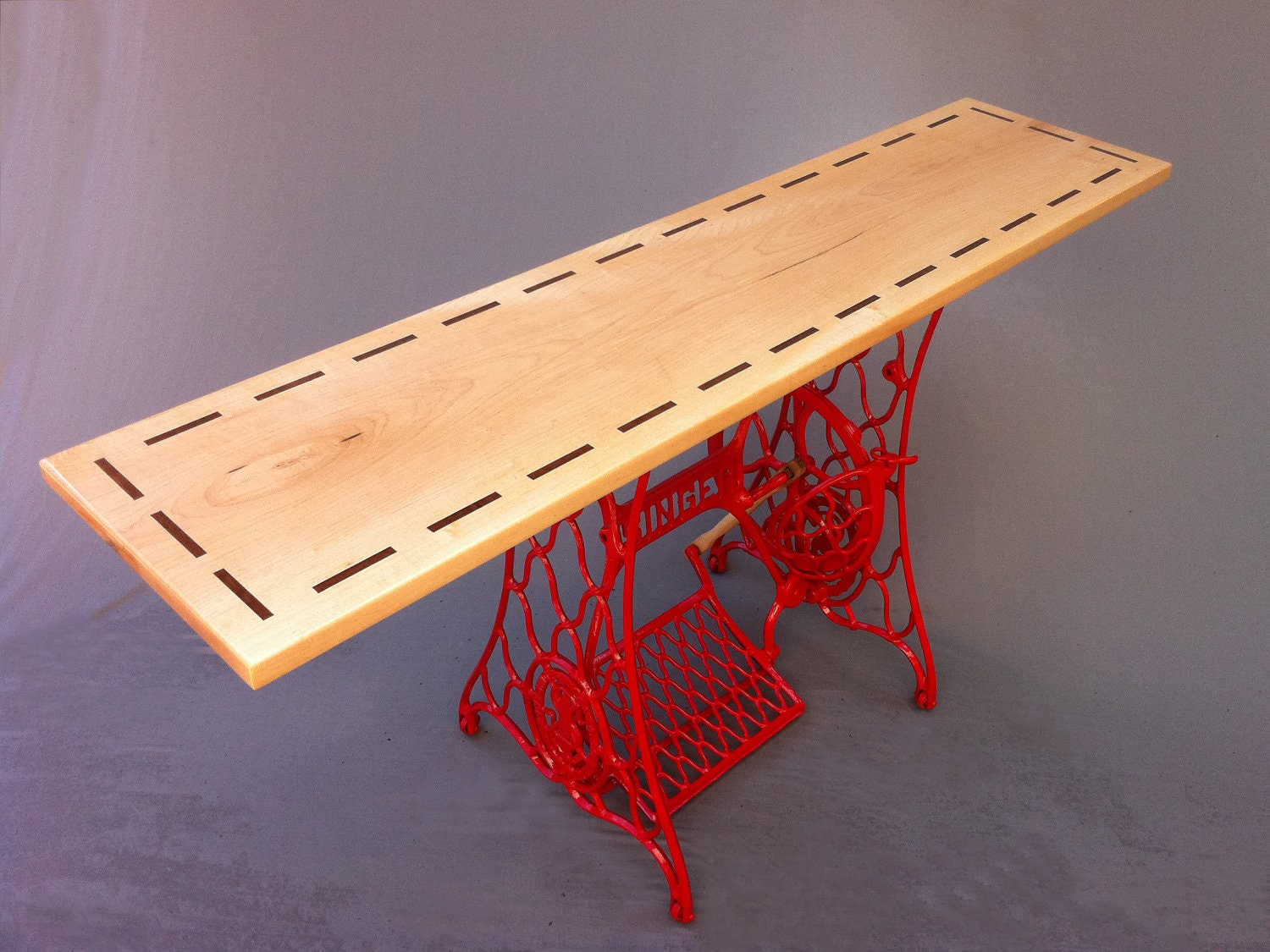 QUICK SHIP Modern Console Table Hall Entry Table
