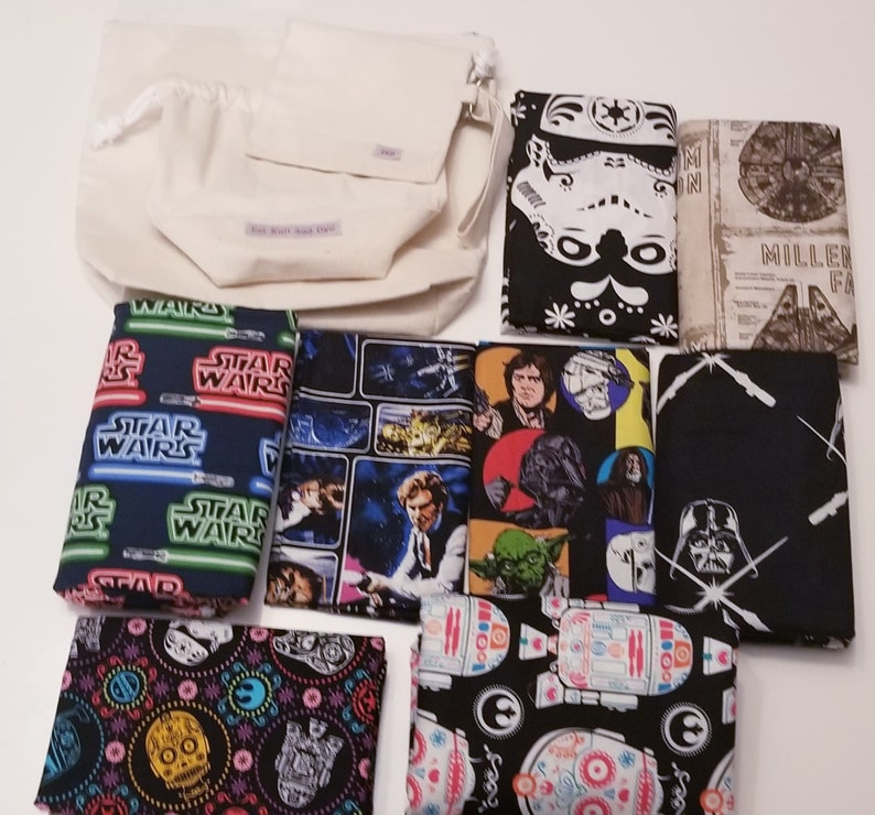 Customizable Star Wars Project Bag