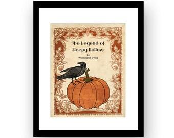 The Legend of Sleepy Hollow   Halloween Party Decor Art   Unframed Art Print
