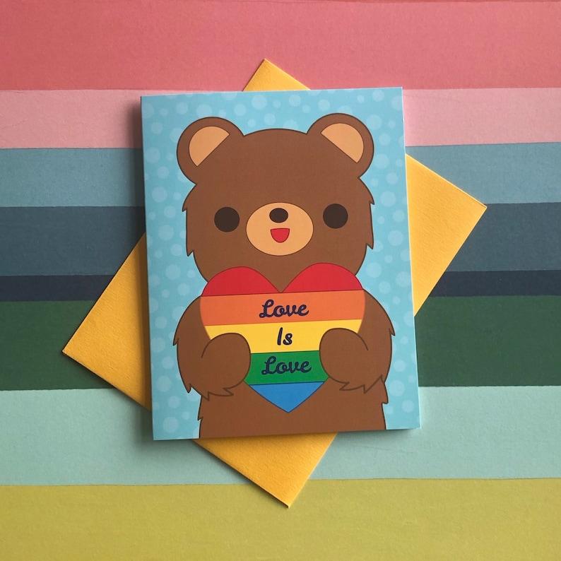 Love is Love Greeting Card image 0