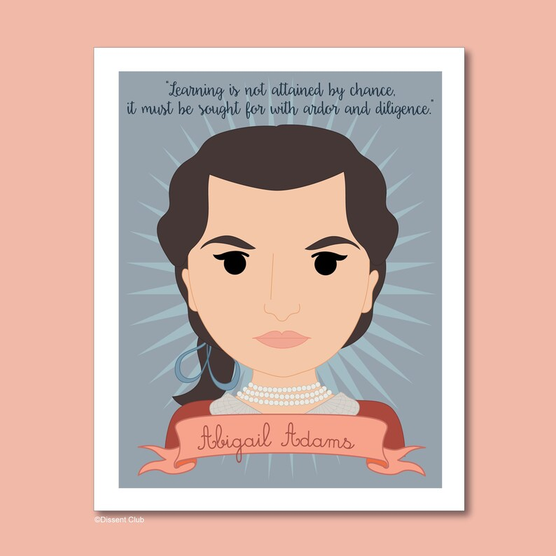 Sheroes Collection: Abigail Adams image 0