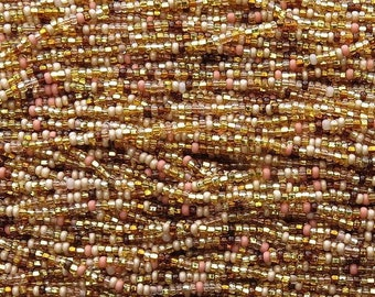 10 0 Faro s Gold Czech Glass Seed Bead Mix - 12 Strand Hank (10CZ5) fdfa0037560