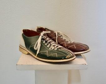 Vintage AMF BOWLING SHOES mens size 8
