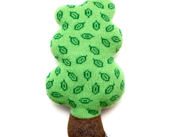 Small Lambswool Tree Plush Toy - In stock