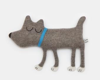 Hugo the Dog Lambswool Plush - Made to order
