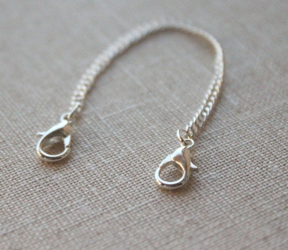 """2/"""" 4/"""" 3/"""" 5/"""" 14k or plaqué argent sterling Collier Extender Chain 1/"""" 6/"""""""