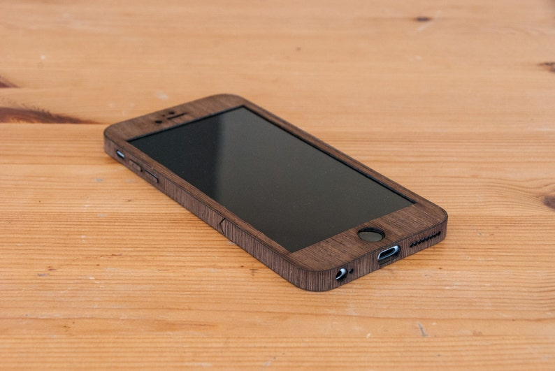 912d0676f8cf Wenge iPhone 6 Plus   iPhone 6S Plus Wood Case Real Wooden
