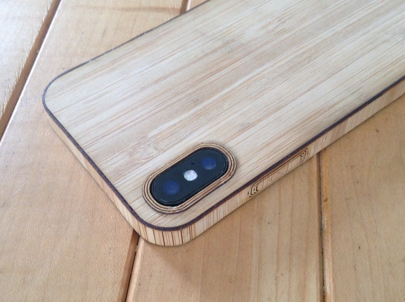 iphone xs max bamboo case