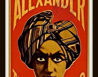 Vaudeville Poster Etsy