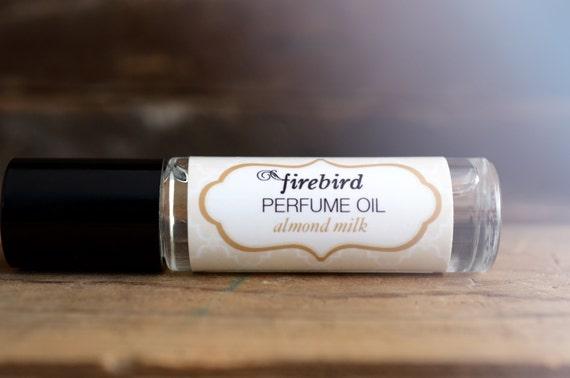 Amandelmelk parfum olie, amandel, vanille, muskus, Roll On parfum