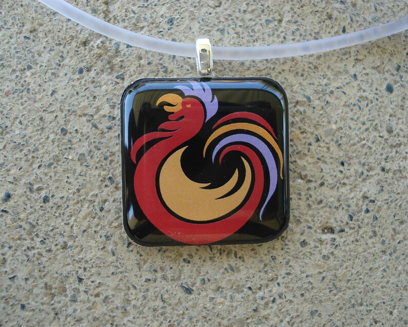 Rooster Resin Charm image 0