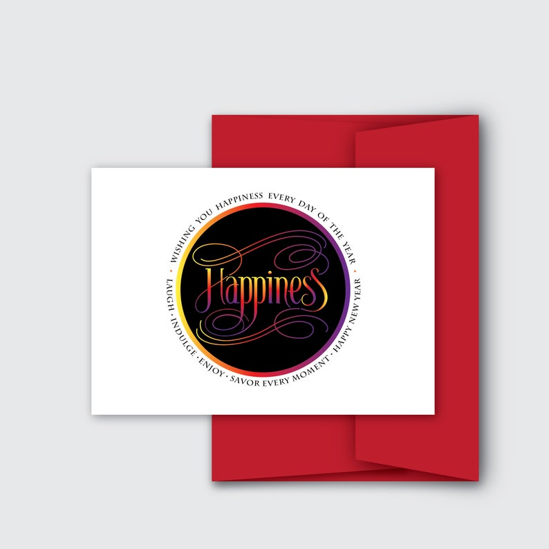 Happy New Year's Greeting Cards image 0