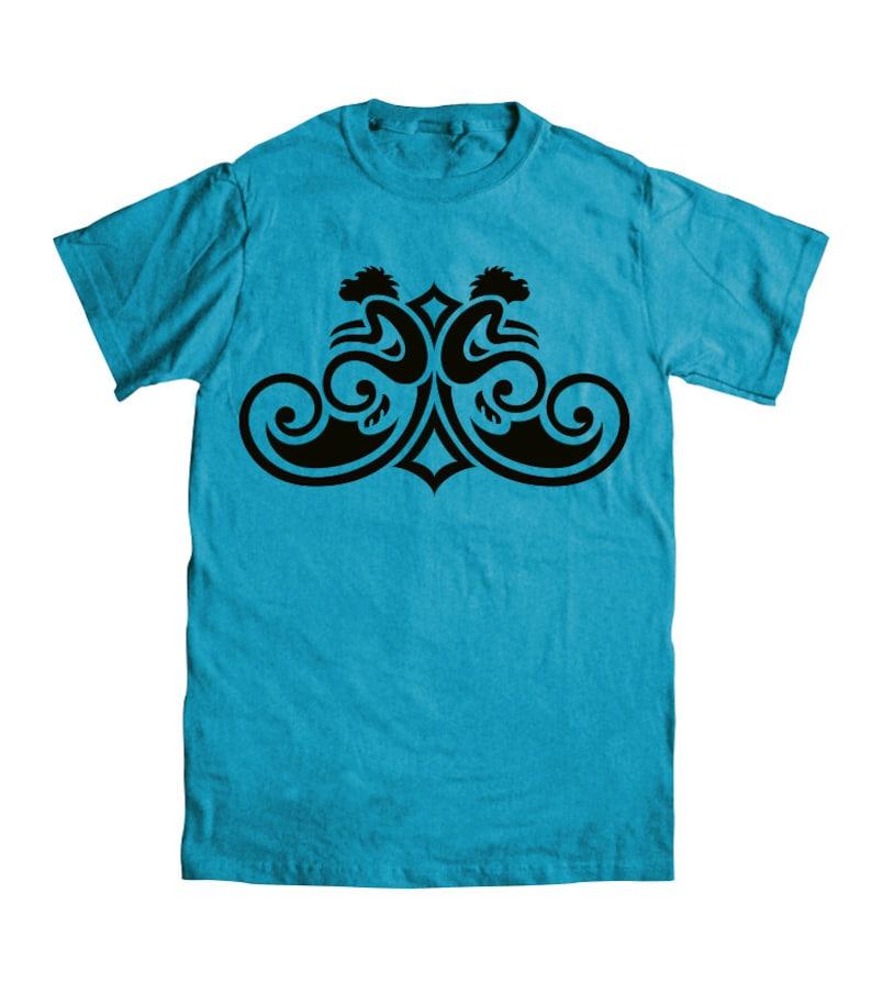 Monkey T-shirt  Denim Blue  Youth Sizes image 0