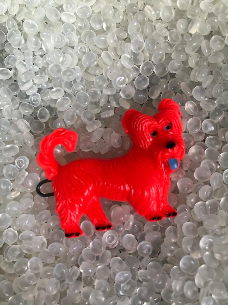 old barrette dog lover gift vintage children/'s barrette vintage 1950s barrette vintage barrette,strawberry red dog