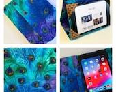 iPad Air 10.9 2020 Case, iPad Pro Case, Moonlight Plume Peacock iPad Cover Hardcover, Standable iPad Case, iPad Air cover