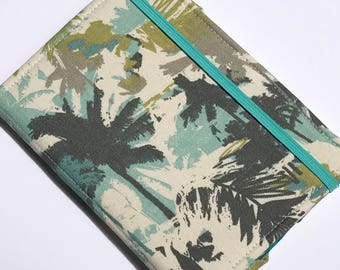 Kobo Libra H2O, Nook Glowlight Plus 2019 Cover, Kindle Paperwhite Cover, all sizes,  Palm Tree Breeze Tablet hardcover Cover