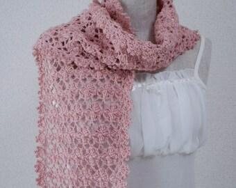 Cotton Stole Pink