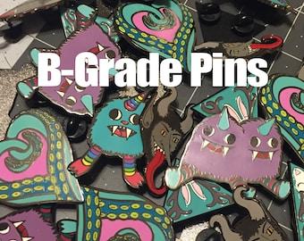B Grade Enamel Pins seconds sale