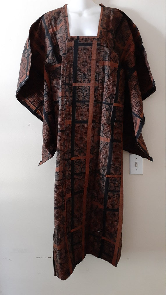 ANTIQUE Kimono - Cotton Kimono Showa 1930s - Orang