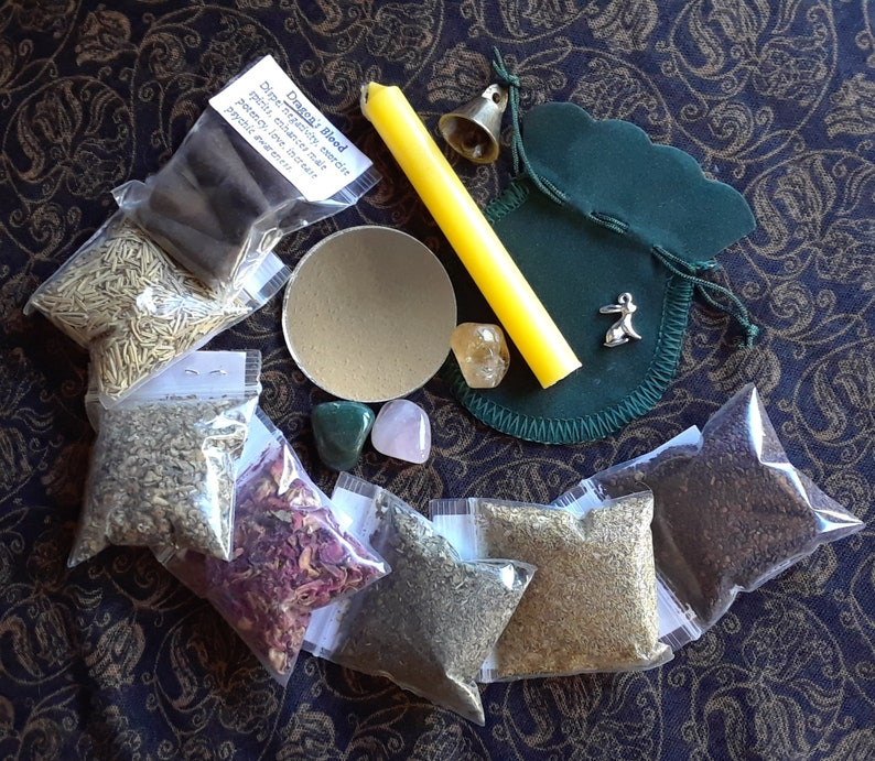 Pick Your Spell Type - Wicca Witch Pagan Supplies - READ DESCRIPTION -  Witchcraft Candles Incense Herbs Charms Stones Mirror