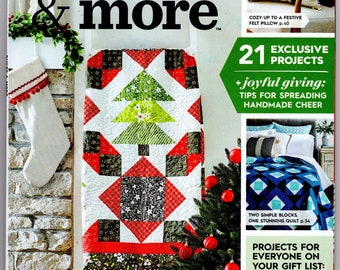Quilts and More, Holiday Crafts, Better Homes and Gardens Winter 2021