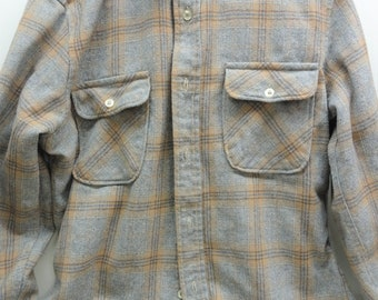 Pendleton Shirt, Ladies Pendleton, Wool Sewing Scrap