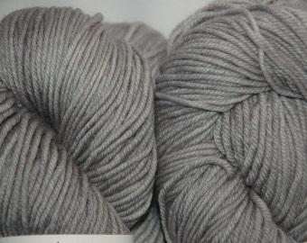 Studio June Yarn MCN Light Worsted - Silvery Gray