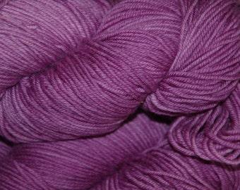 Studio June Yarn Andrea Mae DK, Superwash Merino, DK/Light Worsted Weight, Color:  Violet Plum lot B