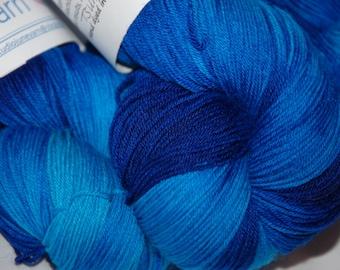 Studio June Yarn Sock Luck - Superwash Merino Wool, Nylon - Tsunami