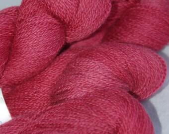 Studio June Yarn Cashmere Lace - 100% Cashmere, Color:  Dark Cherry