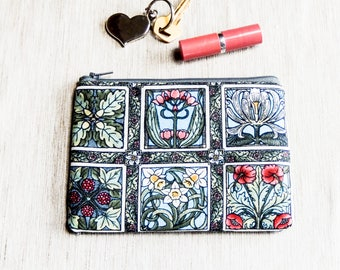 Pencil Case Floral Gift for Her Gift for Mom Coworker Gift BFF Gift Gift for Wife Make Up Bag Sister Gift Bridesmaids Gift Pouch