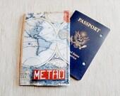 Passport Wallet/ Passport Cover/ Passport Holder/ Gift for Travelers/ Graduation Gift/ Gift for Her/ Teacher Gift/ Wanderlust Gift/ Travel