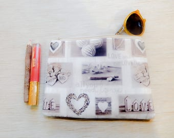 Mothers Day Gift/ Gift for Her/ Gift for Mom/ Best Friend Gift/ Pencil Case/ Teacher Gift/ Girlfriend Gift/ Make Up Bag/ Sister Gift/ Pouch