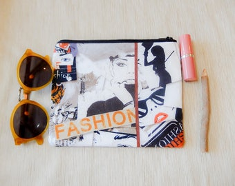 Make Up Bag Gift for Her/ Gift for Women/ Pencil Case/ Gift for Mom/ Sister Gift/ Best Friend Gift/ Mothers Day Gift/ Teacher Gift/ Pouch