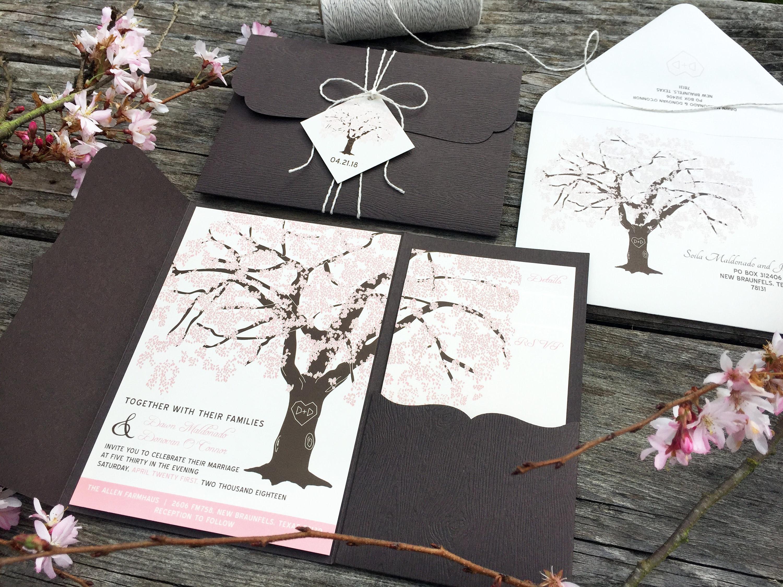 50: Tree Pocket Wedding Invitation At Websimilar.org