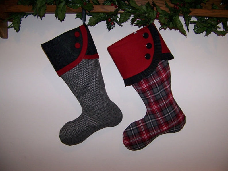 9b7e68f9fb0 Christmas Stocking pdf Pattern and Tutorial Easy pattern
