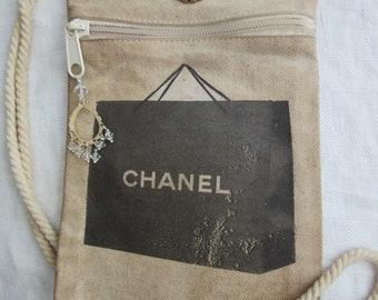 c5b65c24c8df Fashion Illustration Bag- Designer Illustration Bag-Over the Shoulder bag-  CrossBody bag- Designer Inspired- Women's Canvas Bag-Cross Body