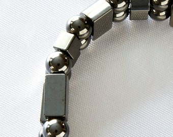 Magnetic Therapy Man's Bracelet Double Strand